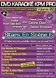 "DVD Karaoké KPM Pro Vol.26 ""Stars En Scène 6"" Tubes 2014"