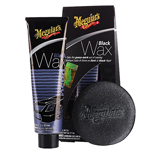 best wax for black cars,Meguiar's G6207 Black Wax Paste - 7 oz