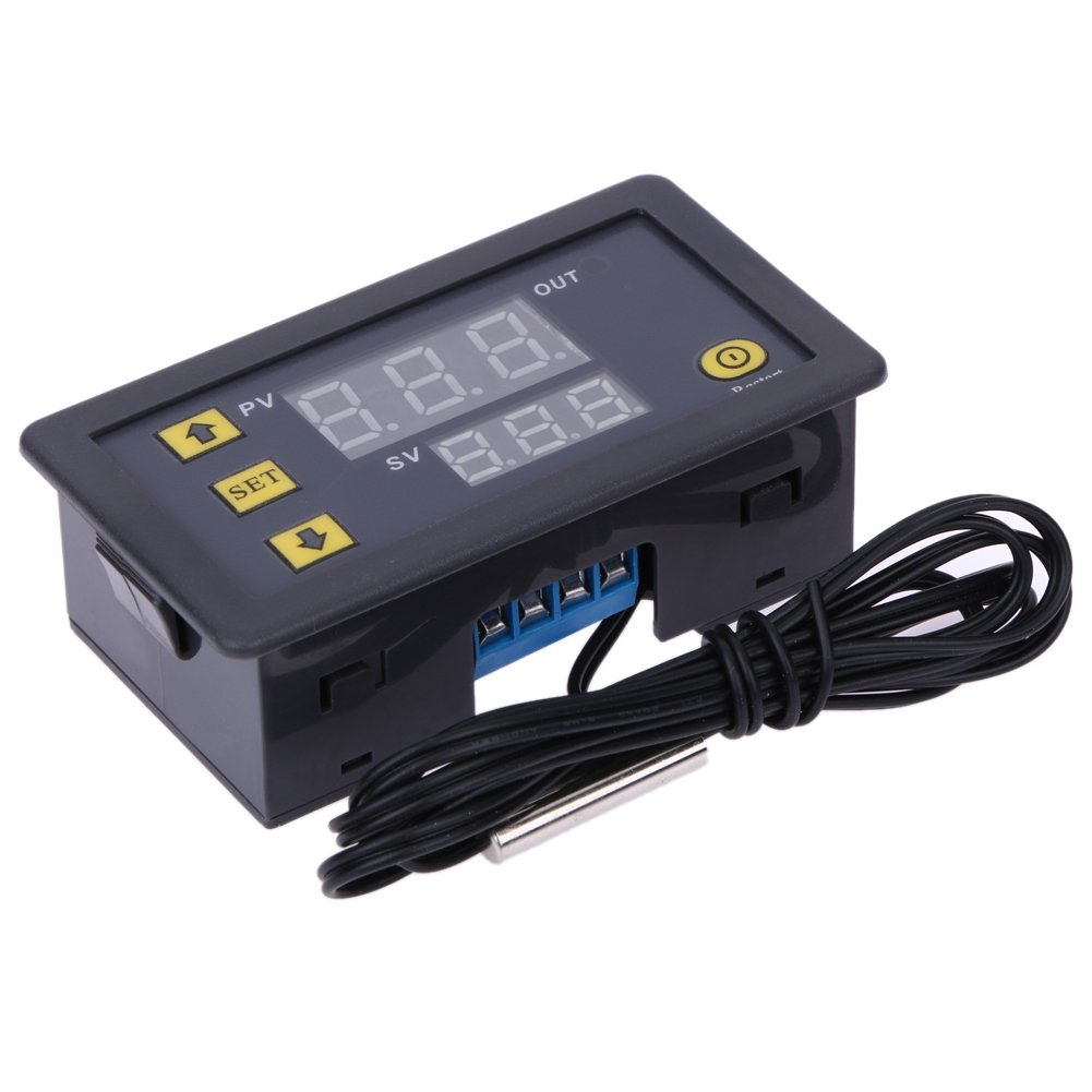 Demiawaking -55-120° C DC 12V Digital Mini Thermostat Temperature Controller Control Switch Sensor Module