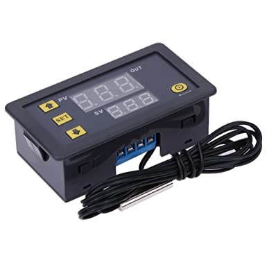 diymore W3230 LCD 12V 20A Digital Thermostat Temperaturregler Sensor Regler Heizung K/ühlung mit Hochtemperaturalarm