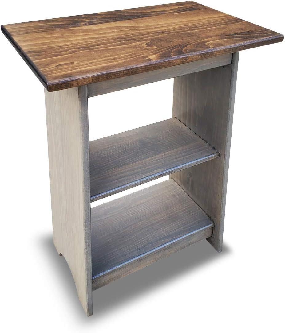 - Amazon.com: Peaceful Classics End Table Amish Furniture Lamp