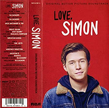 Various Artists - Love Simon Exclusive Red Color Cassette ...
