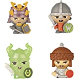 World of Warriors Collectible Figures (Pack of 4)