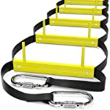 ISOP Fire Escape Ladders 13ft | Retractable Ladders for 2 Story Homes | Compact & Portable | Rope Ladder Suitable for…