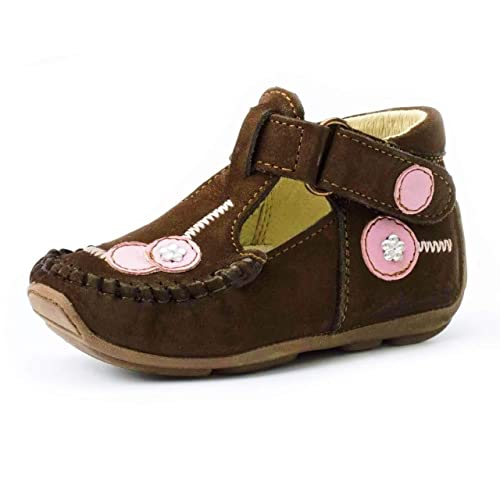 487d88e57db17 Wobbly Waddlers Leather Shoes for Girls :: Arch & Ankle Support for Kids  First Steps ensuring Proper Foot Placement :: Help Your Toddler Walk More  ...