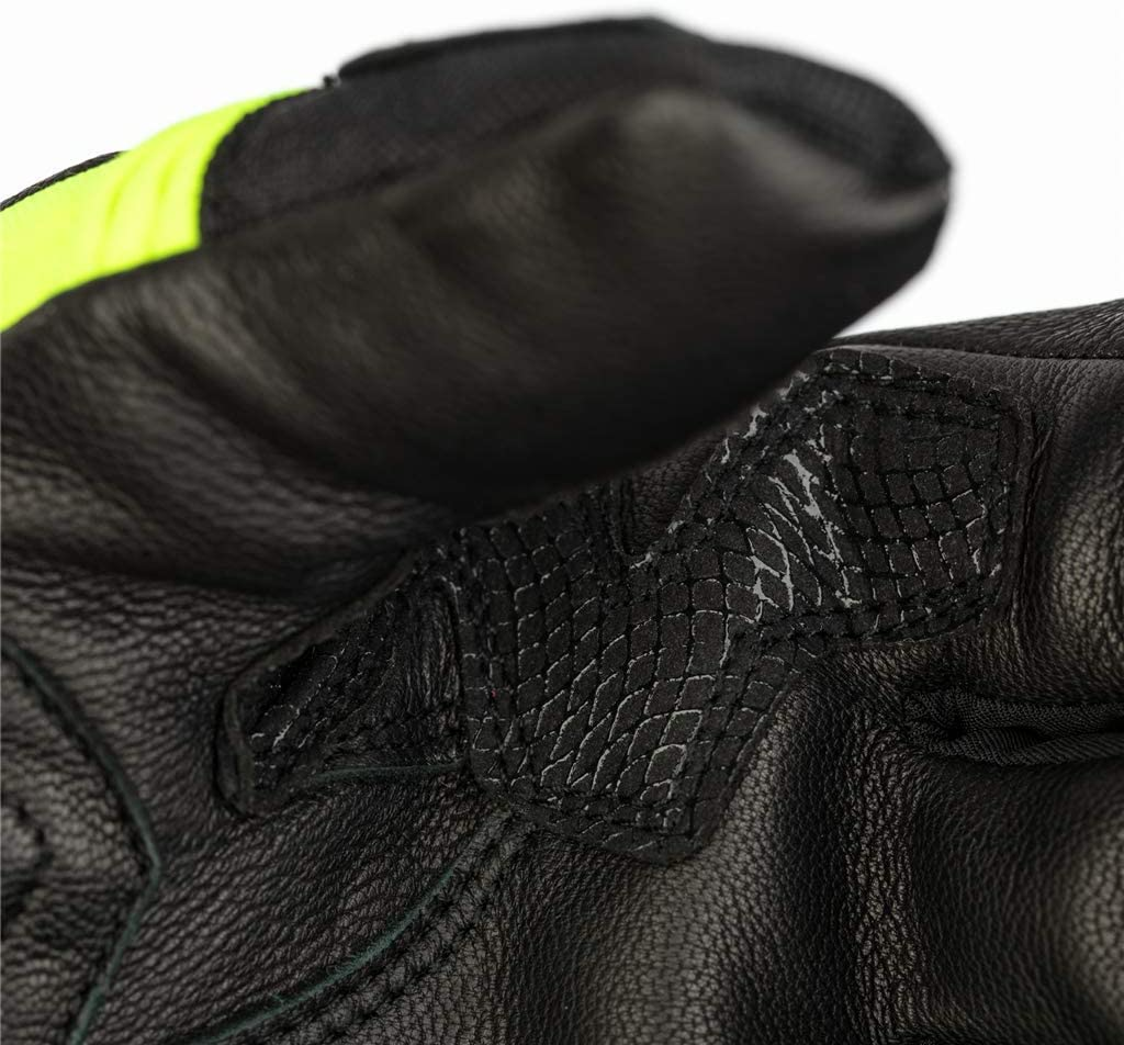 Black//Flo Yellow Small RST Storm WP CE Mens Glove