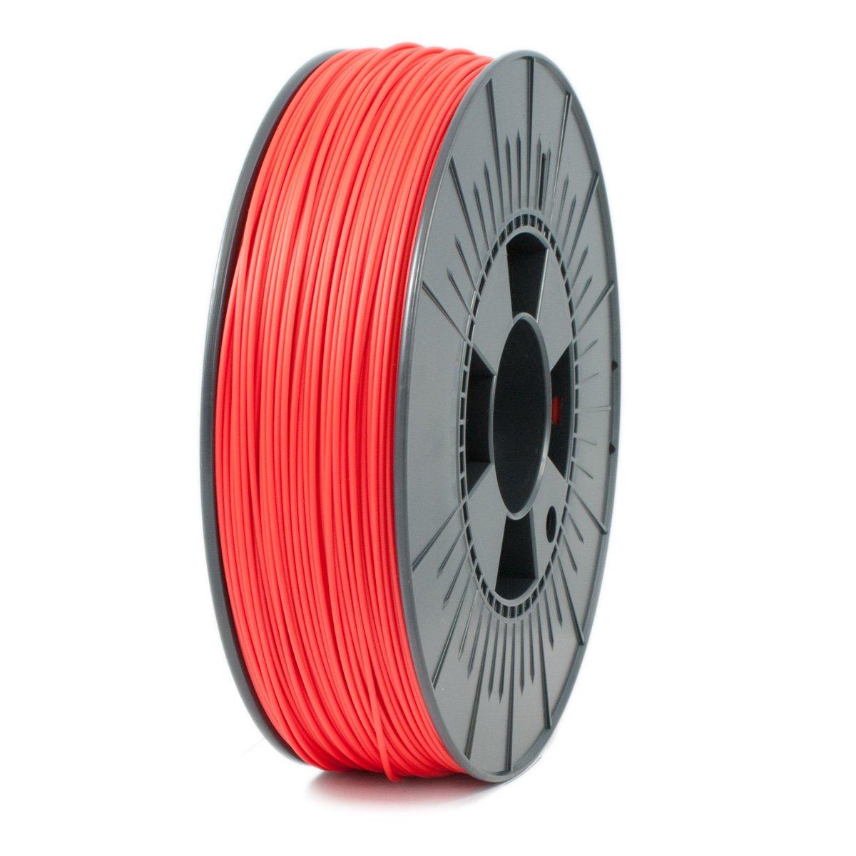 Ice Filaments ICEFIL1HPS148 Filamento HIPS, 1,75 mm, 0,75 kg, Rojo Dutch Filaments