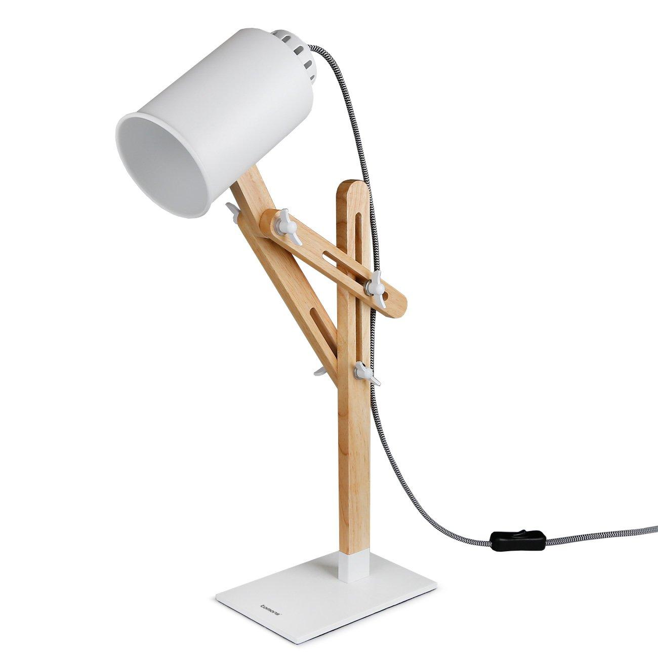 Tomons, bonita lámpara de escritorio ajustable