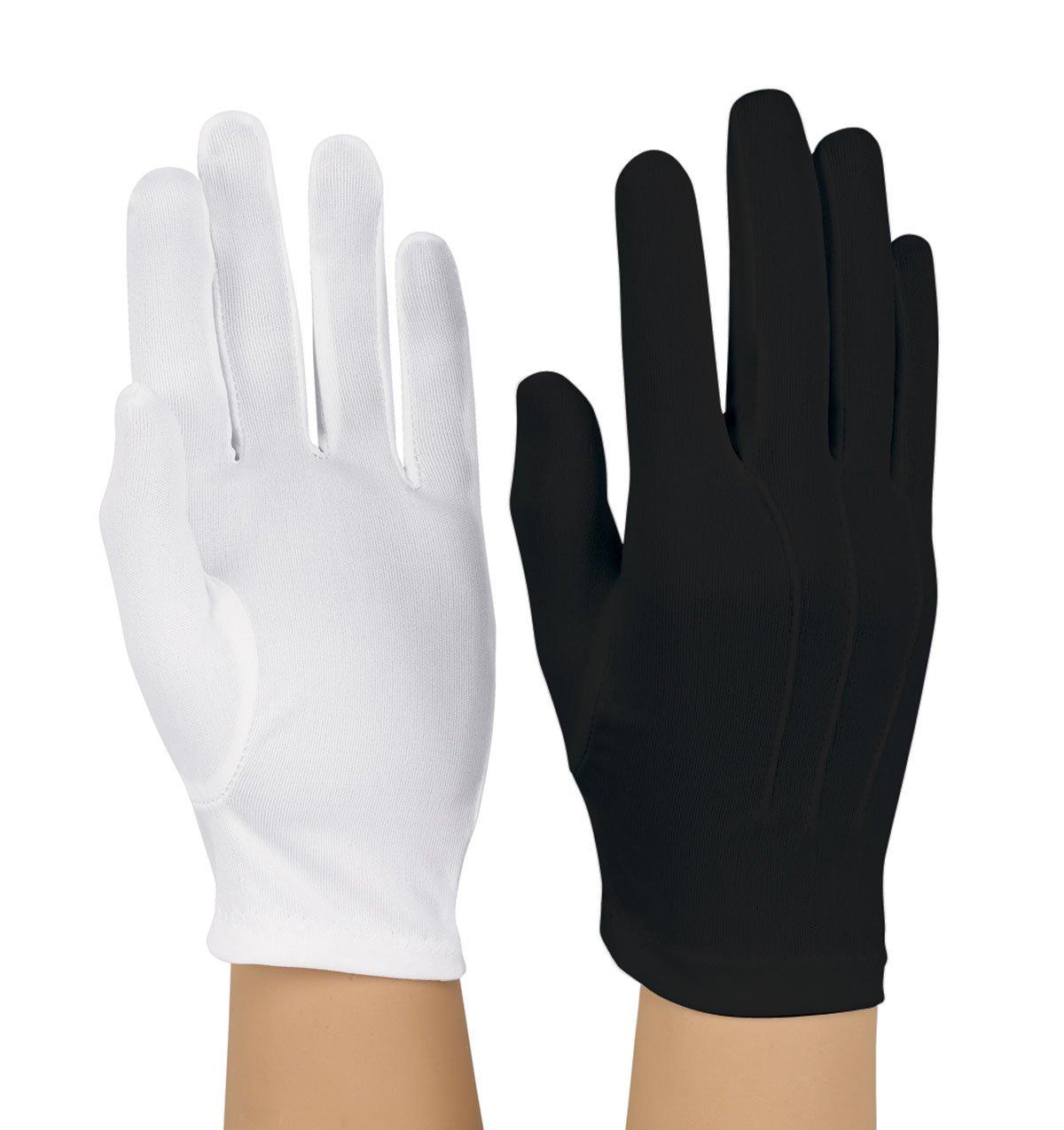 フォーマル/パレード/ Military手袋 – Poly Stretch – ホワイト B075DJQYNS