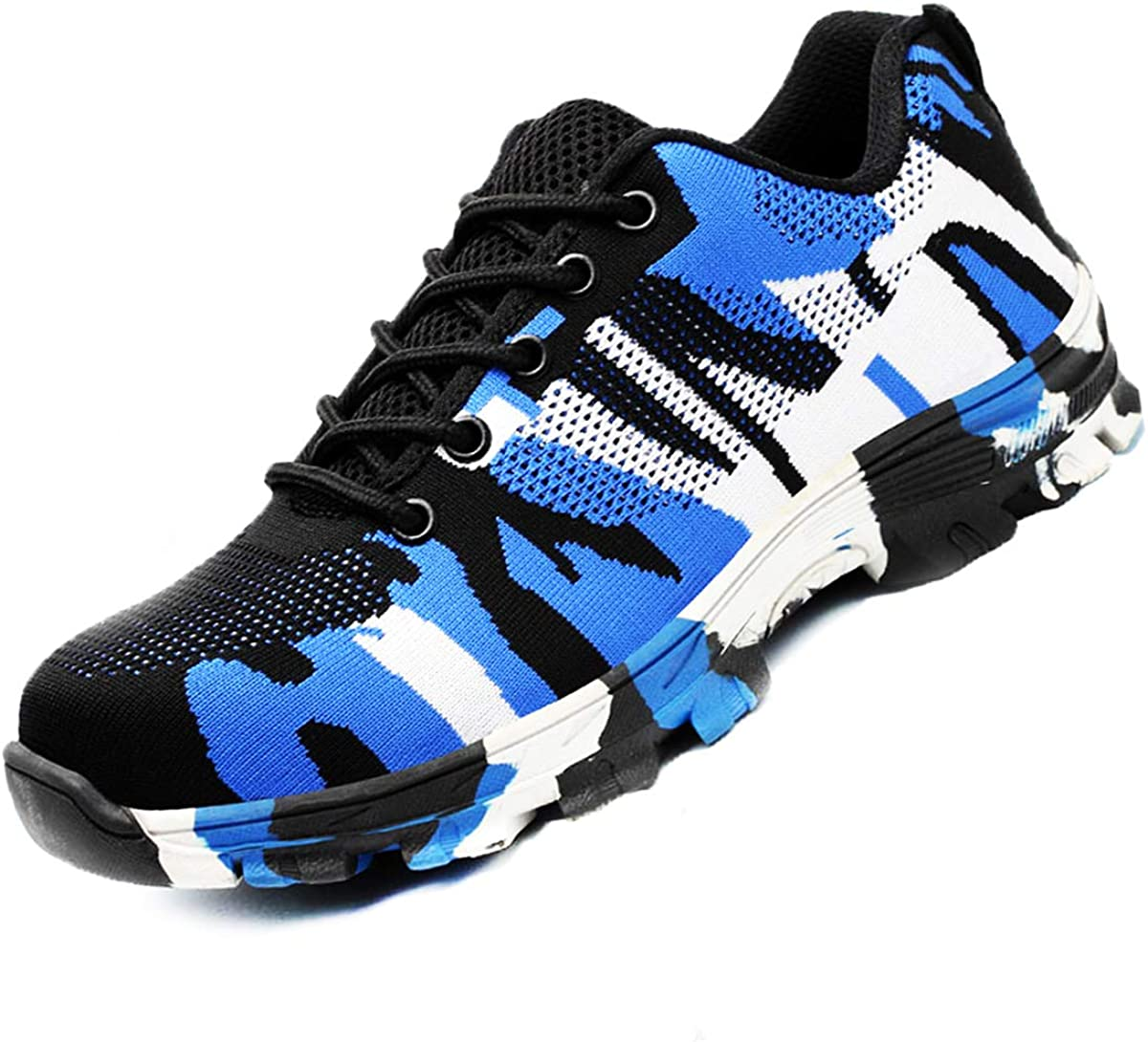 DoGeek Safety Shoes Breathable Work Trainers for Men and Women Durable and Lightweight