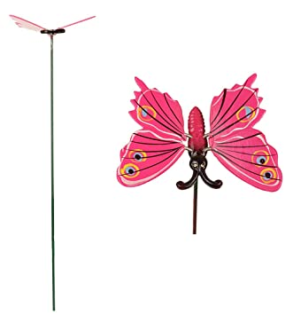 Beau Wonderland Arts Garden Home Decorative Plastic Butterfly With Metal Stick  Pack Of 3 Pieces
