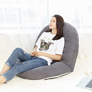 ENAL1 Padded Floor Folding Gaming Sofa Chair Lounger Tatami Small Sofa Folding Adjustable Sleeper Bed Couch Recliner for Living Room,Bedroom,Yard Comfortable Lazy Sofas Furniture (Color : I-1)