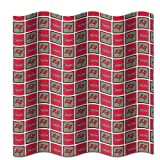 Tampa Bay Buccaneers Fabric Shower Curtain (72''x72'')