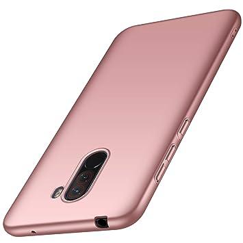 FANFO XiaoMi Pocophone F1 Funda, Elegante Carcasa Dura Ultra Delgada por, Cubierta De Teléfono Limpio Minimalista Anti-ralladuras para XiaoMi ...