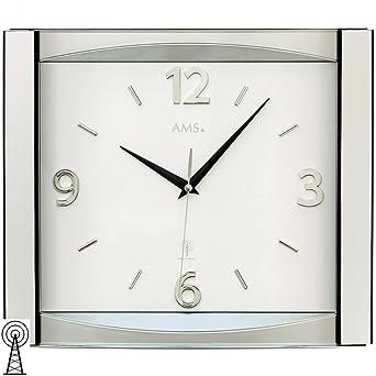 AMS Wanduhren Modern 5614: Amazon.co.uk: Watches