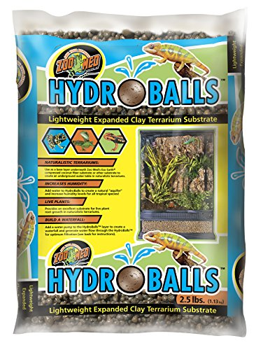 Hydroballs Clay Substrate 2.5lb by Zoo Med
