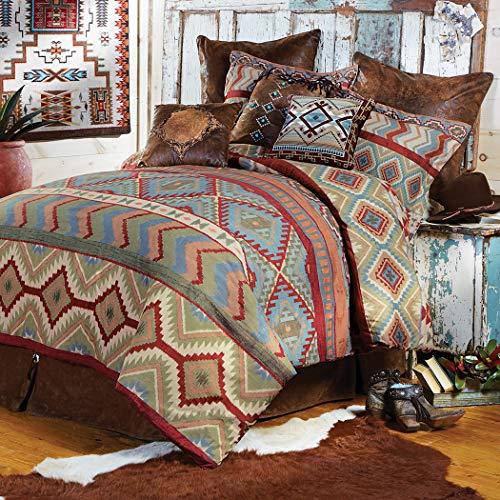 Black Forest Décor Rustic Pueblo Valley Comforter Bedding - Queen