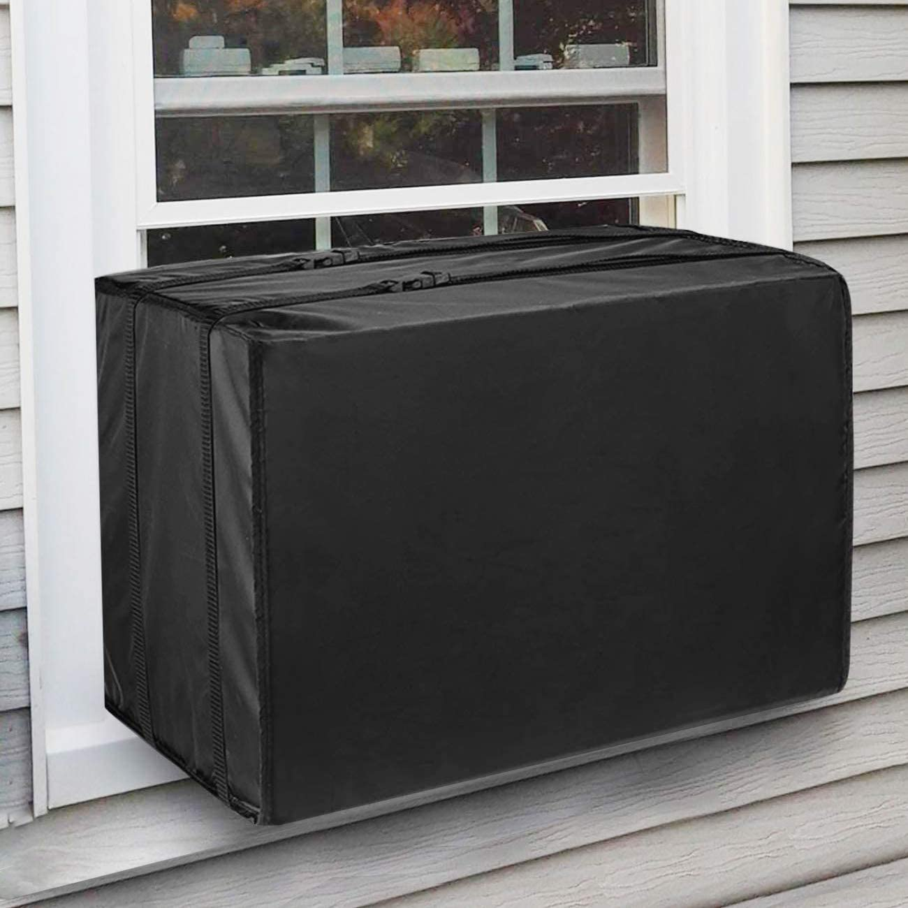 "KylinLucky Window Air Conditioner Unit Cover (17"" W x 13"" H x 12.5"" D)"