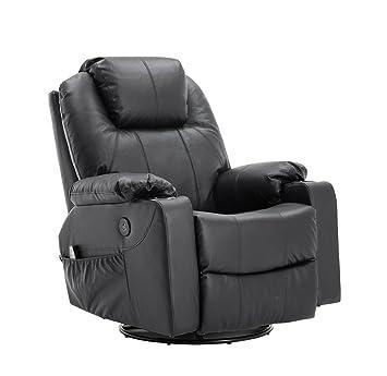 Relax Tv Fauteuils.Mcombo Fauteuil De Massage En Cuir Fauteuil Tv Relax