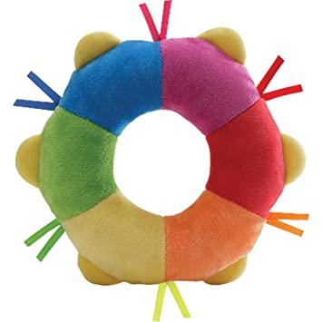 Amazon.com: Gund color Fun felpa pandereta 4034103: Baby