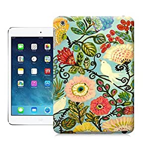 Tostore Birds Bohemian Cottage Style Flowers Art Print battery cover for ipad mini cases