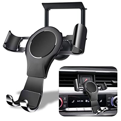 LUNQIN Car Phone Holder for Audi A4 S4 A5 S5 2020-2020 Auto Accessories Interior Decoration Mobile Cell Phone Mount
