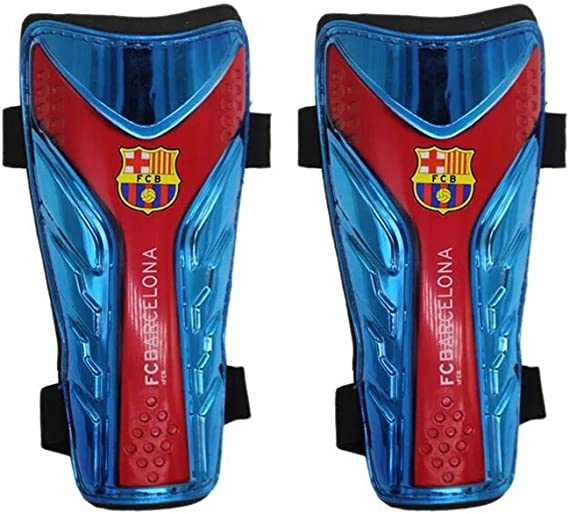 Adult Large Precision Training Pro Shin And Ankle Pads Shin Guards Blue