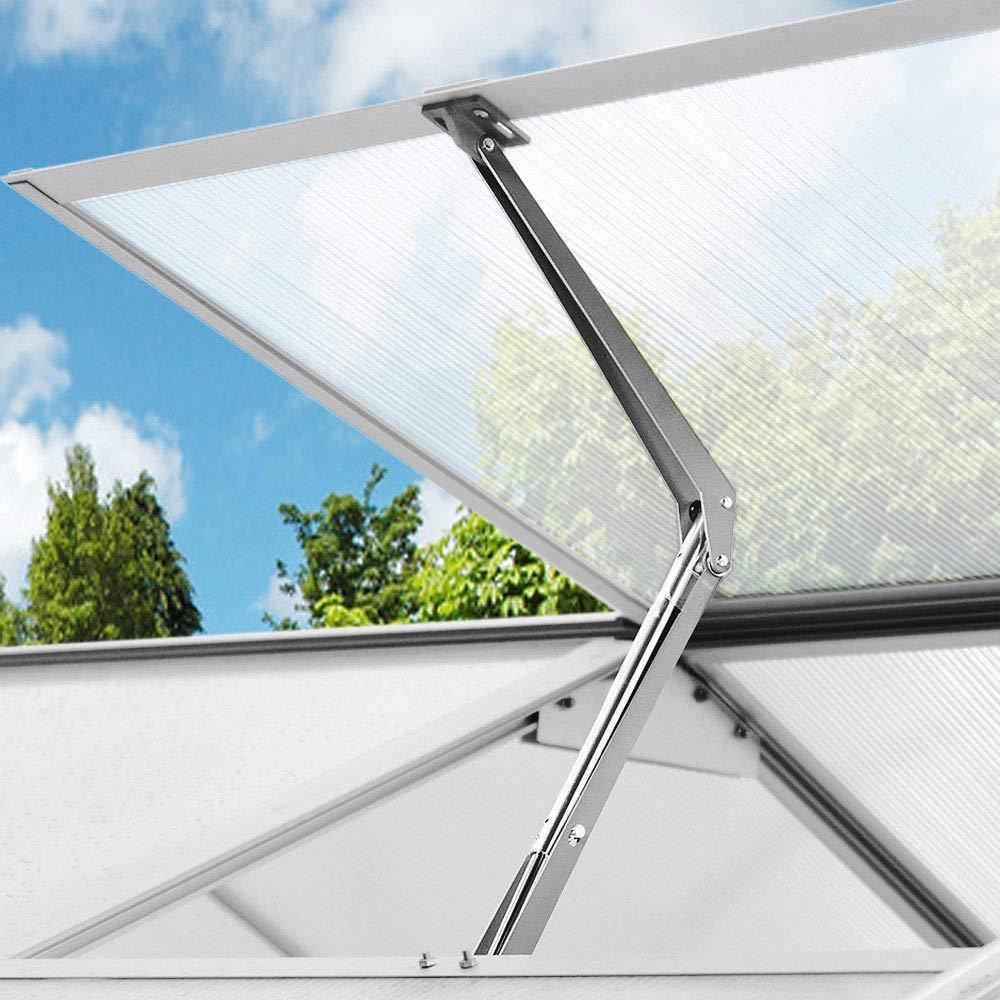 CLAUKING Clouking Automatisches /Öffnen der Fenster f/ür Gew/ächshaus und Gartenhaus Solarbel/üftung f/ür Gew/ächshausdach automatischer Fenster/öffner Belastung 7 kg max