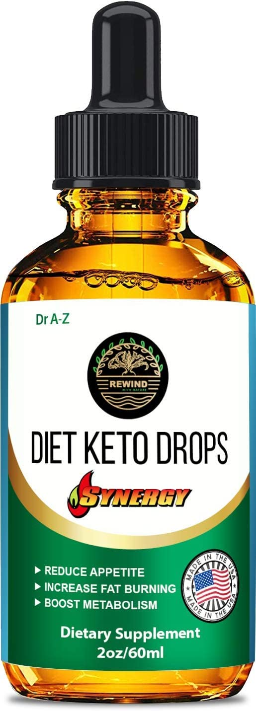 Keto Diet Ketone Drops, Thermogenic Advanced Weight Support, Raspberry Ketones, Carnitine, Arginine, Garcinia - Keto Smart for Natural Weight, Ketosis Diet Ketone Appetite Suppressants- 2 oz Bottle