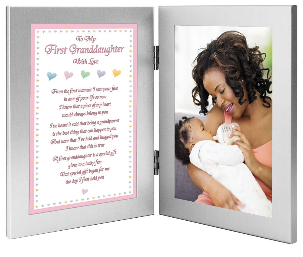 ... First Granddaughter Gift from Grandmother or Grandfather - Add Photo to  Frame Poetry Gifts poetrygifts- ... dd1ba2e3f4b7