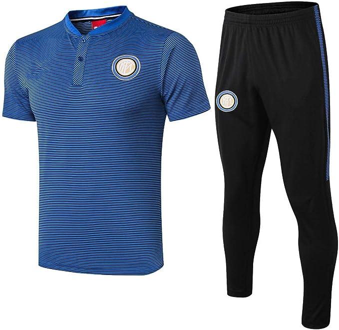 Camiseta de Manga Corta del Club Inter Milan Traje de ...