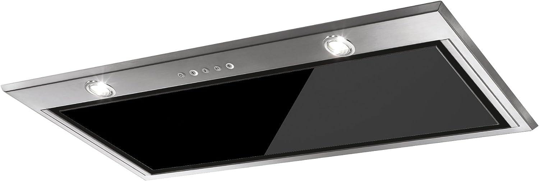 Mepamsa iRun 52 Campana aspirante, grupo filtrante, cristal, color negro, Aluminio: 247.77: Amazon.es: Grandes electrodomésticos