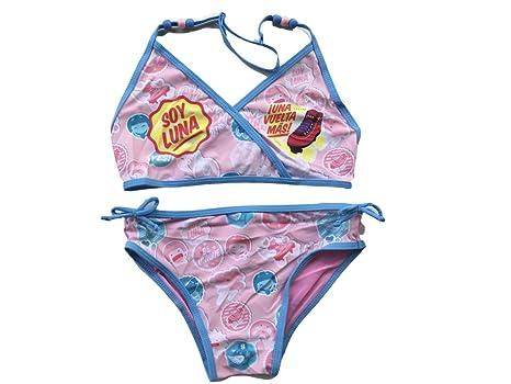 f7d25395c1cf Disney Soy Luna Disney Soy Luna Bikini mit Perlen Bikinis  Amazon.de   Bekleidung