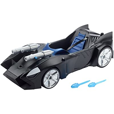 Justice League Action Twin Blast Batmobile Vehicle: Toys & Games