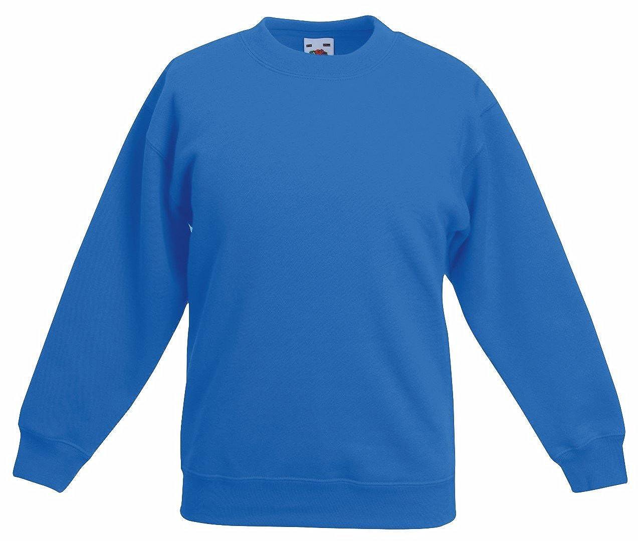 Fruit of the Loom Kids Drop Shoulder Sweatshirt