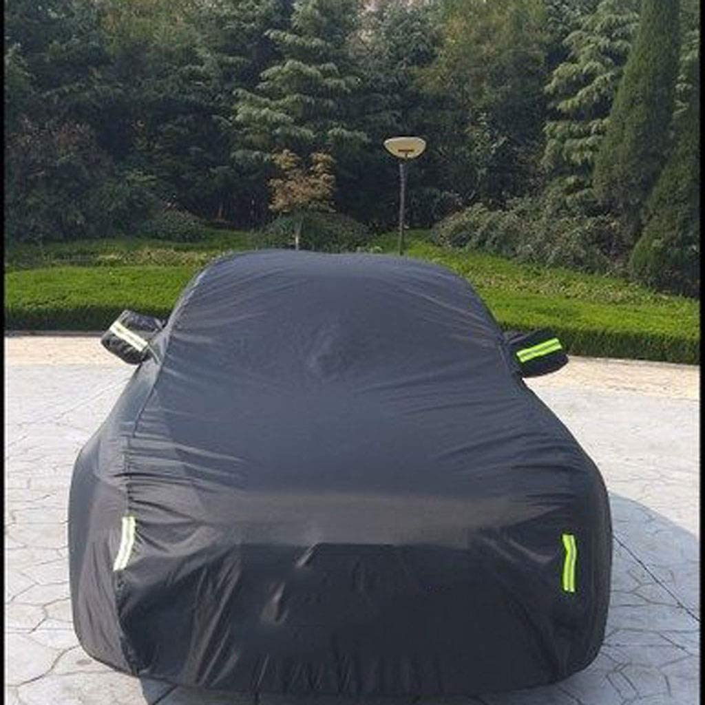 Car Cover Compatible with BMW Z4 Reinforced Suture Stretch Resistant Rainproof Sunscreen Windproof Multiple Protection Car Covers Color : Black