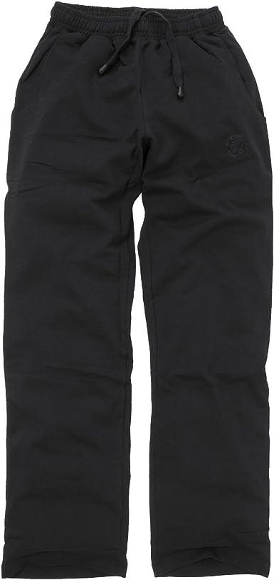 Negro Pantalón Chándal de Ahorn Sportswear Hasta 10 XL ...