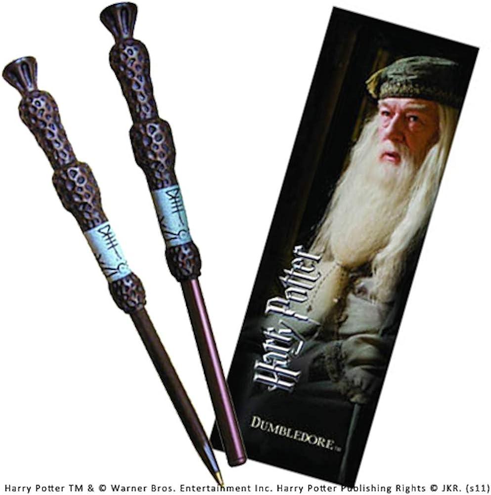 The Noble Collection Harry Potter: bolígrafo Dumbledore y Conjunto de marcadores.