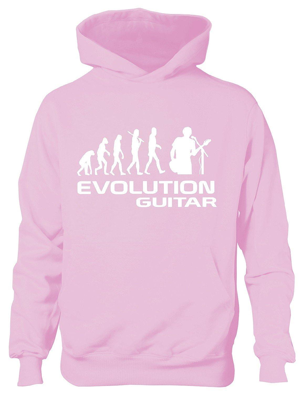 Evolution Of Skiing Skier Sport Boys Girls Kids Hoodie Age 5-13