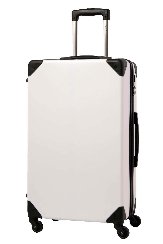 [グリフィンランド]_Griffinland TSAロック搭載 トランクケース スーツケース 超軽量 PET7156 【全国無料配送&1年間修理保証】 B01M9DYMBR M(25)型|白樺(ホワイト系) 白樺(ホワイト系) M(25)型