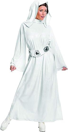 Rubies Disfraz Oficial de Princesa Leia, Star Wars, para Adulto ...