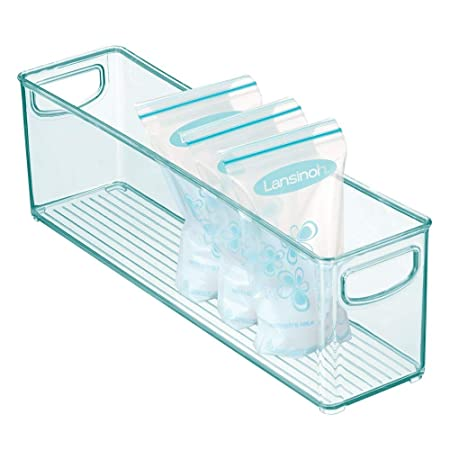 mDesign Cajones de plástico sin BPA para Alimentos Infantiles ...