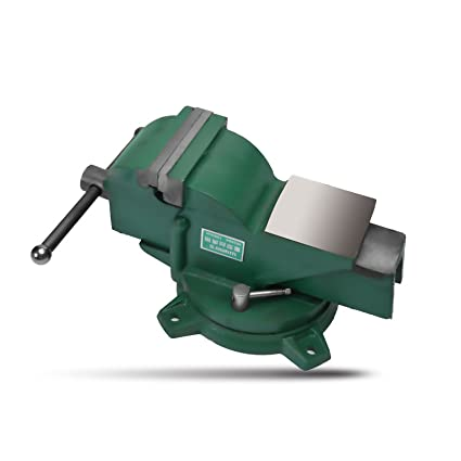 4 Heavy Duty Forged Steel Bench Vise With 360 Degree Swivel