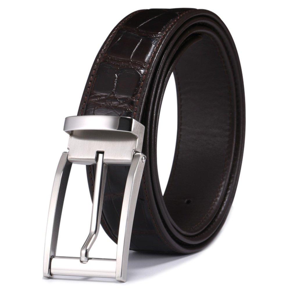 Men's leisure business belt Simple all-matched belt-D 105cm(41inch)