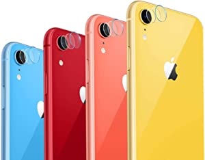 Casetego Compatible with iPhone XR Camera Lens Protector, [3 Pack]Thin Transparent Clear Camera Tempered Glass Protector, High Definition Camera Lens Protector for Apple iPhone XR 6.1 inch,Clear