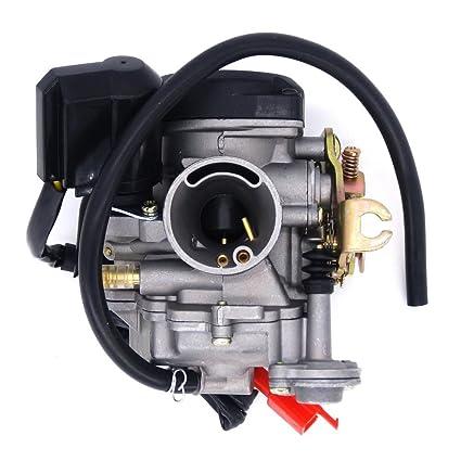 61gNB9qTxxL._SX425_ amazon com 49cc scooter carburetor gy6 four stroke with jet