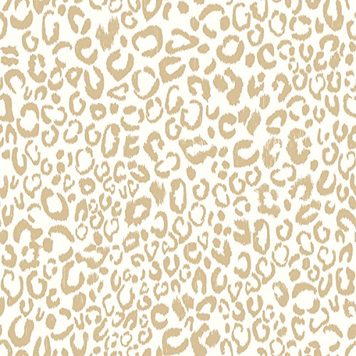 (RoomMates Leopard Peel and Stick Wallpaper)