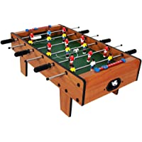 Toyshine Mid Sized Foosball Game with 6 Rods (Brown, 20inch)