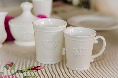 Kaffeeservice 14tlg Landhausstil Porzellanservice Teeservice Tafelservice Tassen
