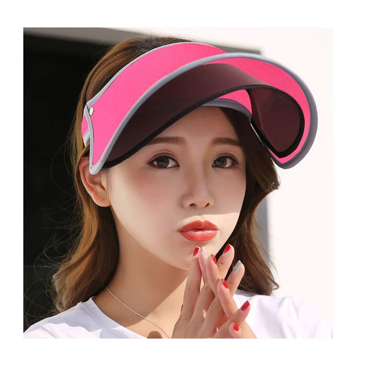 Lens pink Red KSDJSA Sunhat for Women Sunscreen Cap with Lens AntiUltrapurple Cover Face Beac